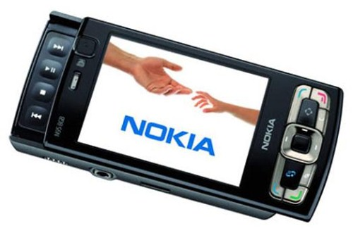 Nokia. N95 8Gb. Создана для европейской версии, где оно улучшит