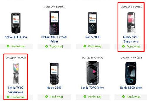 Характеристики Nokia 7610