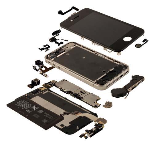 Iphone 4s схема аккумулятора - bd0